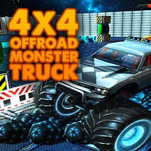 4X4 Offroad Monster Trucks game