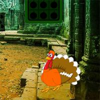 play Big Thanksgiving Ruins Forest Escape