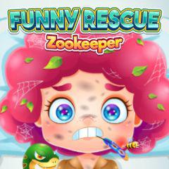 play Funny Rescue Zookeeper
