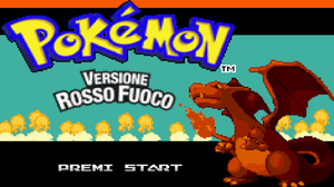 Pokemon Fire Red Version game