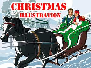 play Christmas Illustration Puzzle