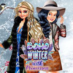 Boho Winter With Princesses game
