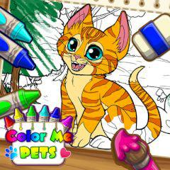 Color Me Pets game