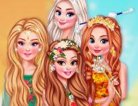 Princesses Of The 4 Seasons game