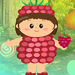 play Strawberry Girl Escape
