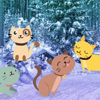 Find-The-Snow-Cats game