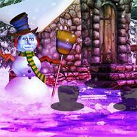 Fantasy-Snowman-World-Escape game