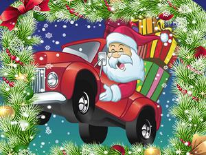 play Christmas Truck Jigsaw