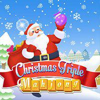 play Christmas Triple Mahjong