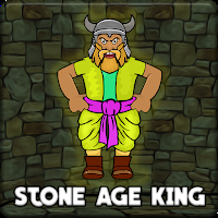 G2J Stone Age King Escape game