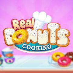 Real Donuts Cooking game
