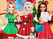 Disney Princess Christmas Party game
