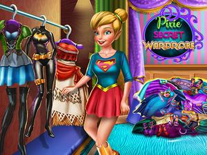 play Pixie Secret Wardrobe
