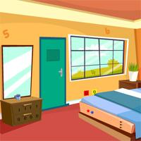 Geniefungames-Single-Bed-Room-Escape game