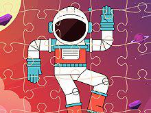 play Space Mission Jigsaw