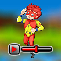 Superpower Boy Escape Game Walkthrough game