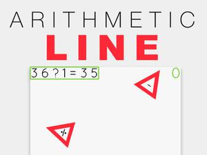 Arithmetic Line game