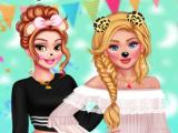 Princesses Sleepover Party game