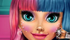 Candy'S Cute Makeover Salon game