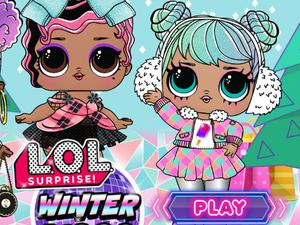 Baby Dolls Winter Disco game
