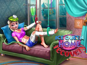 Ice Queen Home Recovery game