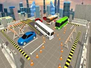 American Tourist Bus Simulator : Bus Parking 2019 game