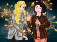 play Princesses Festive Winter Looks