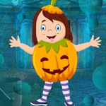 play Cute Pumpkin Girl Escape