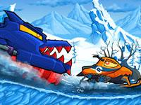play Car Eats Car - Winter Adventure