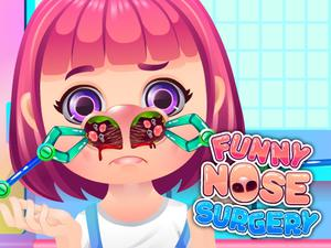 play Funny Nose Surgery