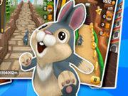 play Christmas Santa Bunny Run