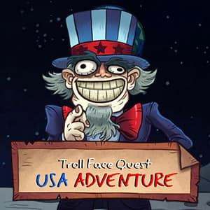 Trollface Quest: Usa 1 game