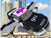 play Police Flying Car Simulator