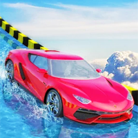 play Water Slide Car Race