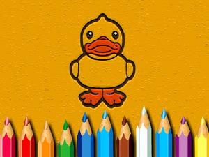 play Bts Ducks Coloring Book