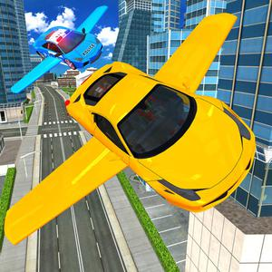 play Flying Car Simulator 3D