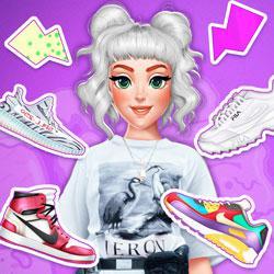 play Diy Trendy Sneakers