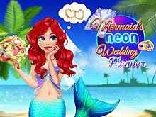 play Mermaid'S Neon Wedding Planner