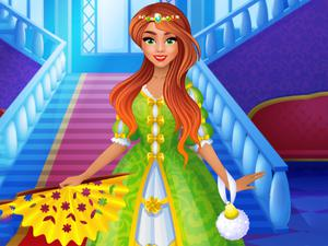 play Modern Princess Prom Dress Up