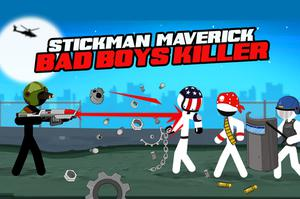 play Stickman Maverick : Bad Boys Killer