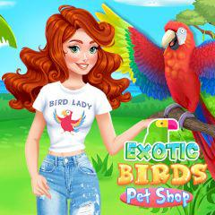 play Exotic Birds Pet Shop