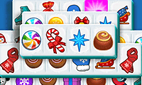 play Mahjong Candy Cane