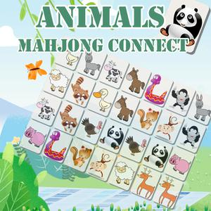 play Animals Mahjong Connect