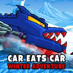 play Car Eats Car: Winter Adventure