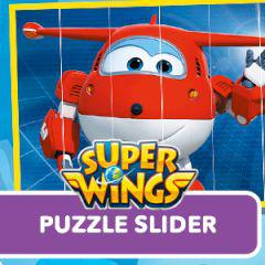 play Super Wings Puzzle Slider