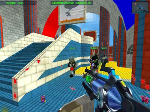play Blocky Gun Paintball 3