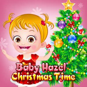 Baby Hazel Christmas Time game