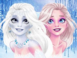play New Makeup Snow Queen Eliza