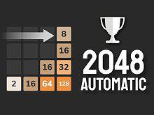 play 2048 Automatic Strategy