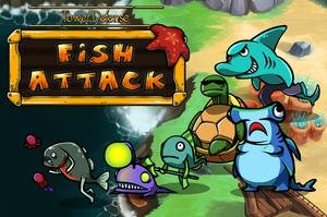 play Tower Defense : Fish Attack